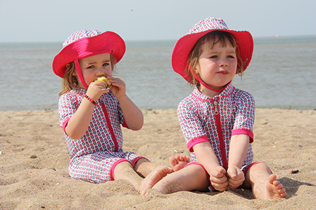 strój kąpielowy dla dzieci marki Ducksday