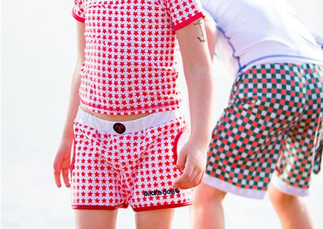 t-shirty i szorty dla dzieci na lato z filtrem ochronnym